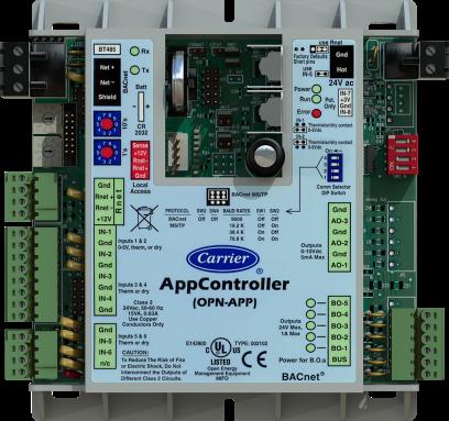Carrier APP OPN Controller