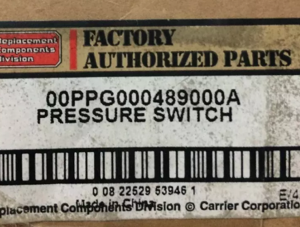 Carrier 00ppg000489000a Chiller Pressure Switch